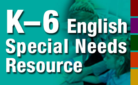 K-6 English Special Needs Resource
