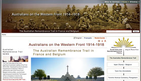 Australians on the Western Front website